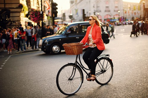 I prefer riding my bike