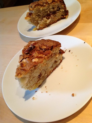 American Apple and Apricot Cake