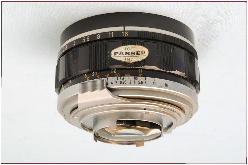 Canon FD 50/0.95