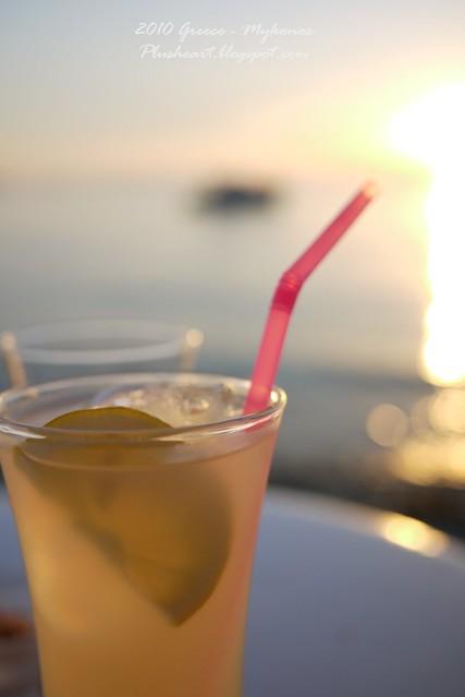 ▌Greece ▌ 藍天·海景·飲料 缺一不可