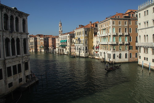 Grand Canal at Ponte di Rialto