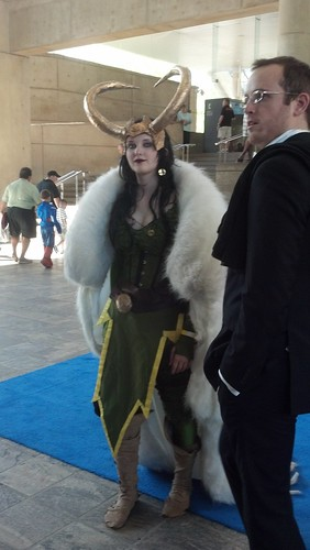 Cosplayers at Baltimore Comic-Con 2012