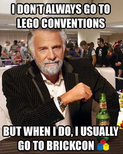 The most interesting AFOL in the world prefers BRICKCON