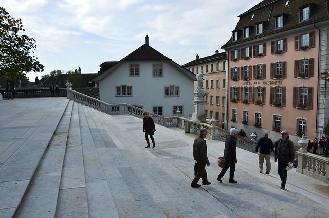 St. Urs steps towards Kronegasse