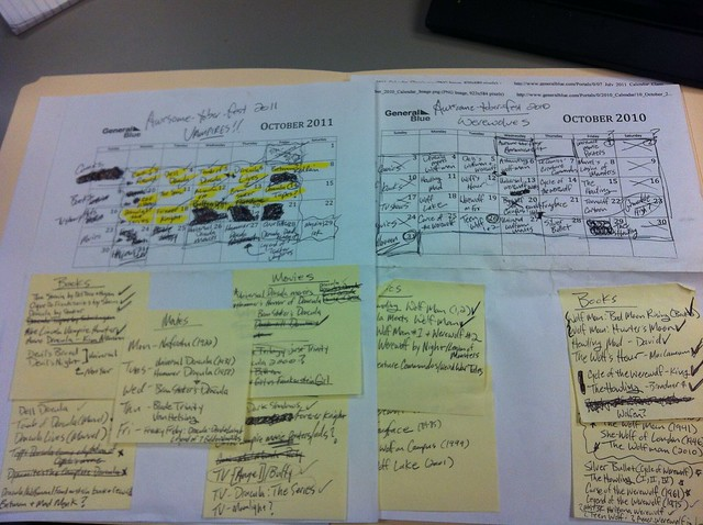 AWESOME-tober-fest notes