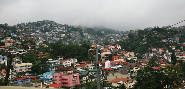 On the road: Baguio