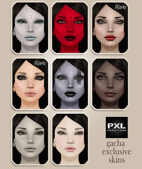 [PXL] Women Gacha skins