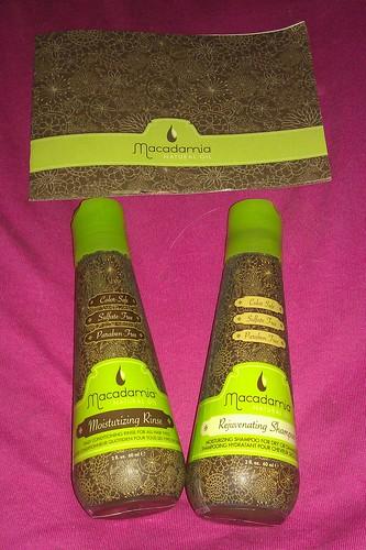 Macademia Natural Oil Shampoo and Conditioner