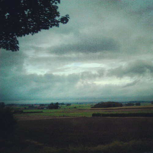 somewhere in east flanders... #sky #belgianweather #gray