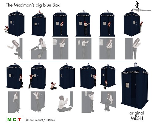 The Madman's big blue box