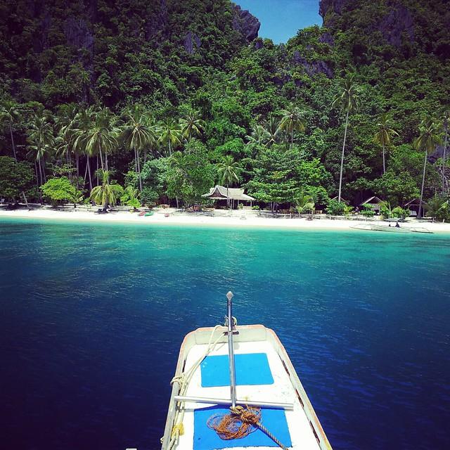 Approaching 7 Commando Island