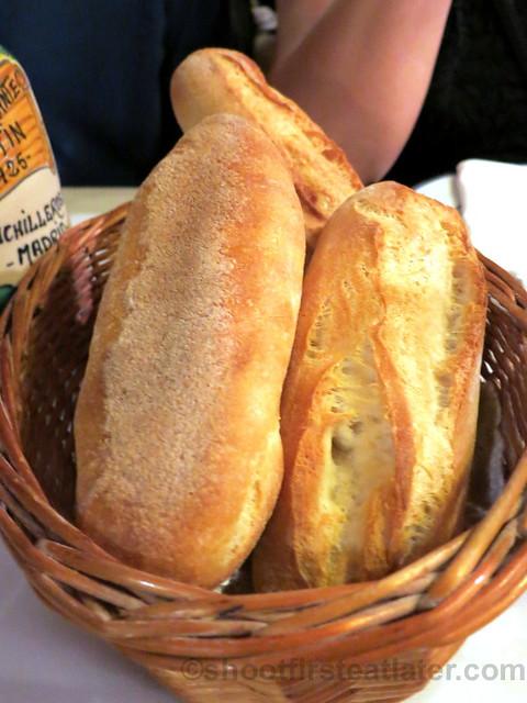 pan (bread) €1,95 each