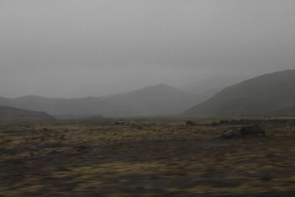 Cerca del glaciar Skeiðarár