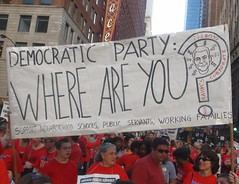 CTU Strike: 'Democratic Party, Where Are You?'