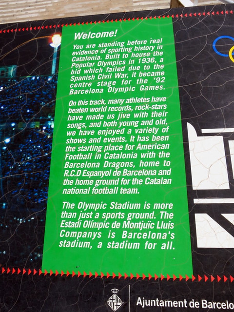 Olympic Stadium of Barcelona