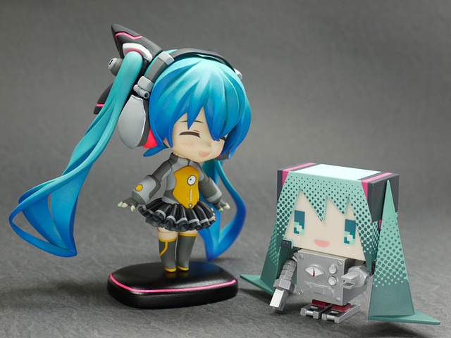Miku robot is included