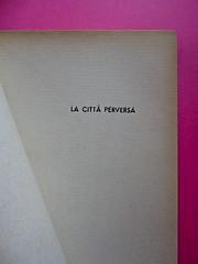 Gore Vidal, La città perversa, Elmo editore 1949. (copia 2) Pag. dell'occhiello (part.), 1