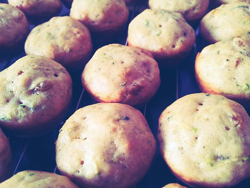 Sunny Zucchini Muffins