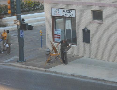 That artist across the street