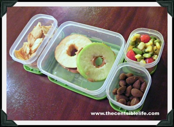 School Lunch Ideas - 7 days of healthy living