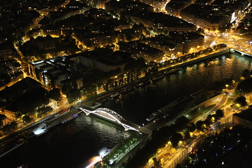 Seine from Tour Eiffel