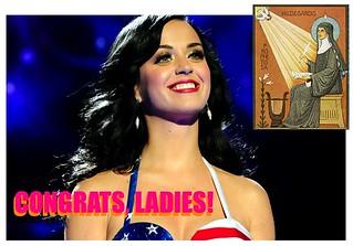 Katy Perry and Hildegard von Bingen