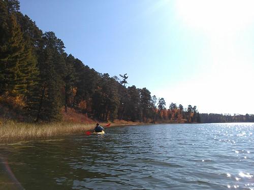 last paddle on itasca.