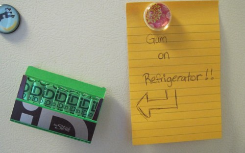 Stride on Refrigerator!