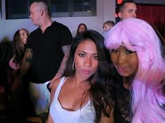 Bianca and me at Nicki Minaj