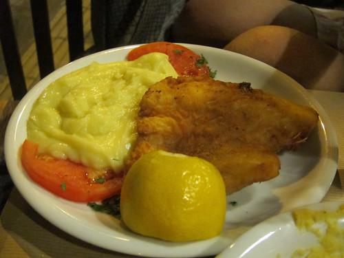 Fried Cod with Skordalia