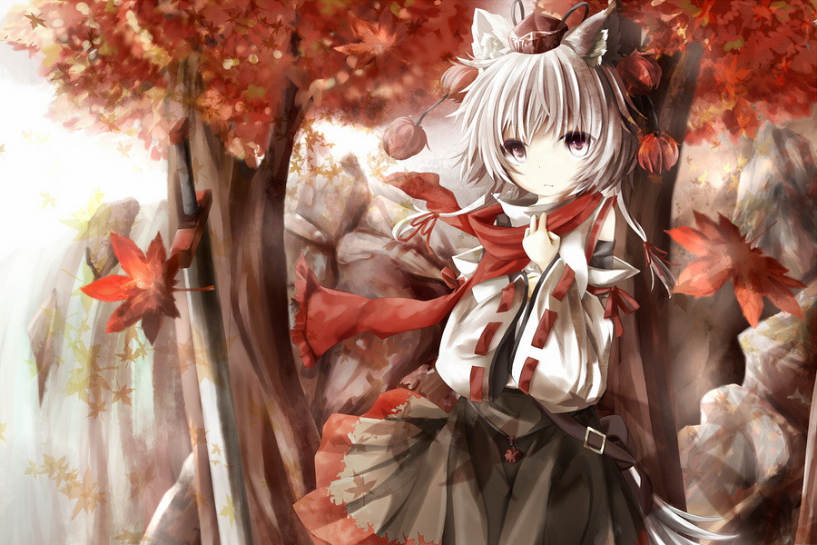 秋の滝 by 原人