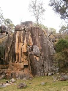 Rock Face - Coomba Falls