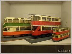 Trolleybus Models (Ipswich Trasport Museum)