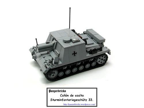 Sturminfanteriegeschütz 33B de Panzerbricks