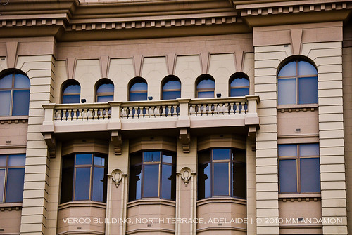 Verco Building (1912) facade detail