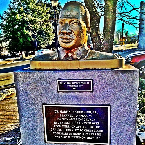 MLK • Martin Luther King Jr. by Greensboro NC