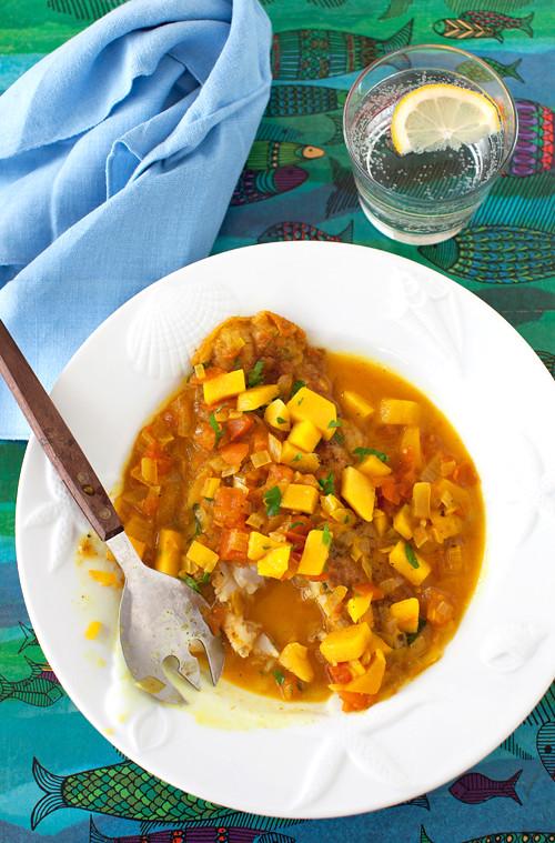 Basa with Mango 3