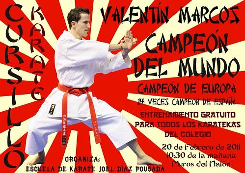 Curso de Karate: Valentín Marcos