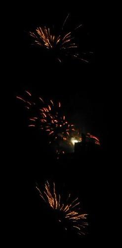 morning fireworks