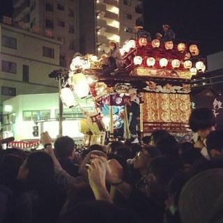 川越祭り!