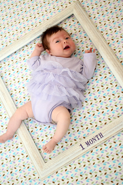 Harper at 1 month