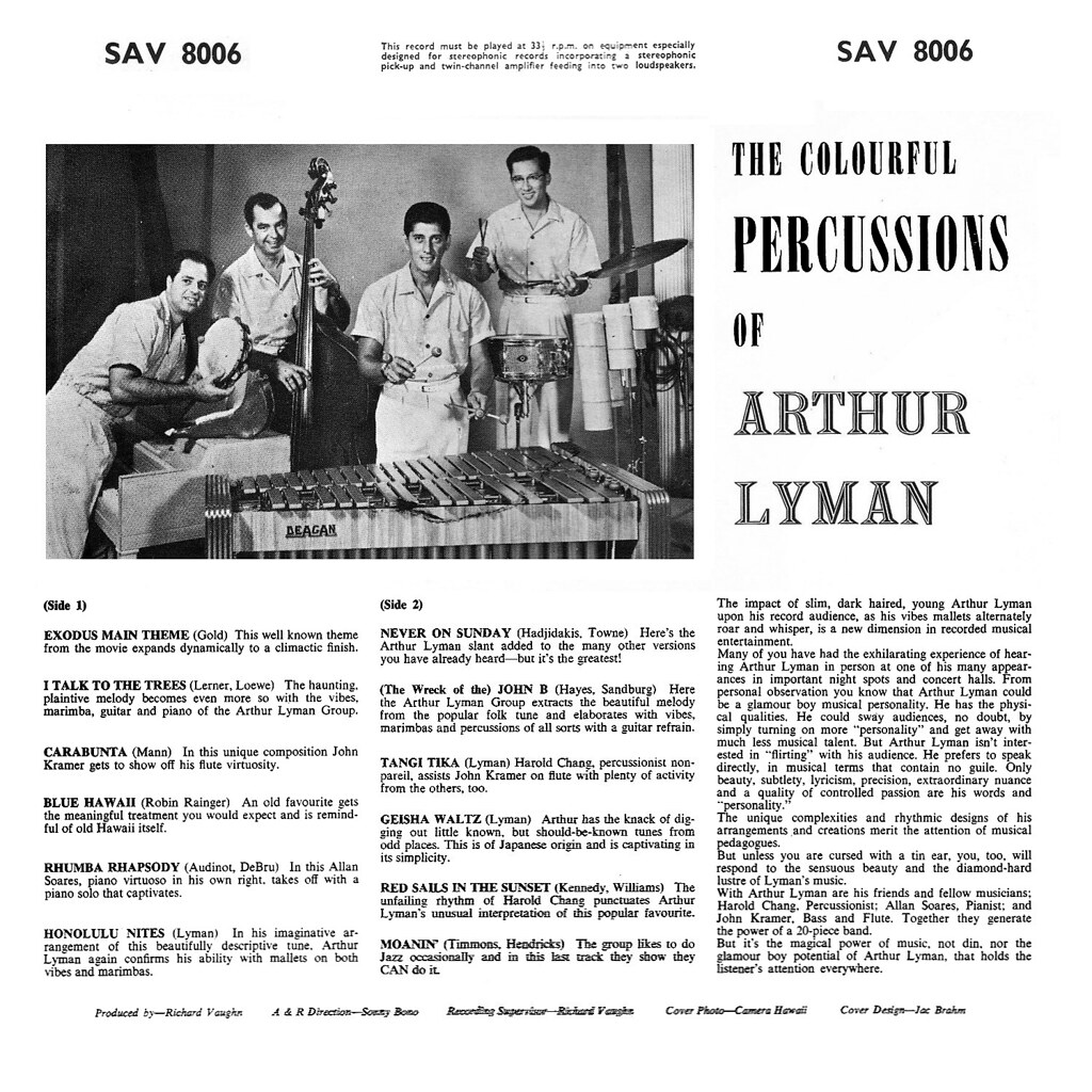 Arthur Lyman - The Colorful Percussions of Arthur Lyman