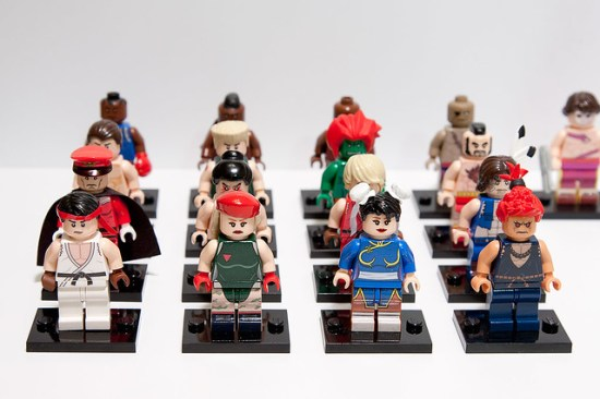 Street Fighter 2 Minifigs - for Child's Play Charity