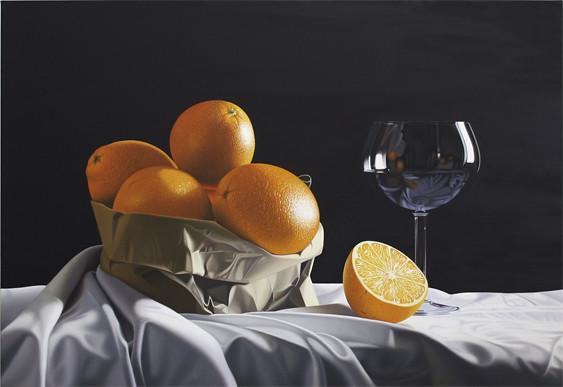 Un sacchetto di arance