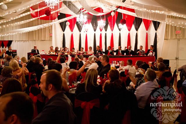 Hart Community Center Wedding Reception