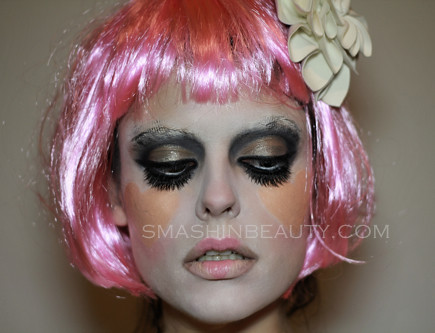 Illamasqua Makeup 2013 Broken Heats Clown Circus Makeup