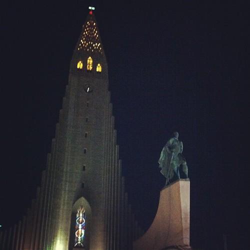 #reykjavik #iceland #hallgrímskirkja #skólavörðuholt