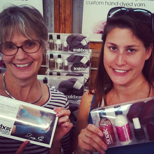 Happy #soakbox customers at #rhinebeck ! We have a few left- so come early tomorrow! Bldg 31, #25