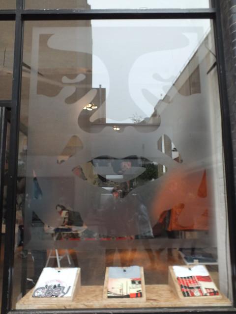 Shepard Fairey Street Art and Exhibition 2012