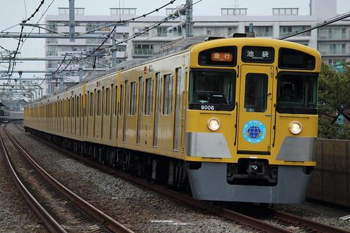 9106F(人と環境にやさしい鉄道HM) @中村橋